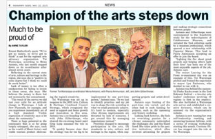 Wairarapa News 2015 The Diaspora Way